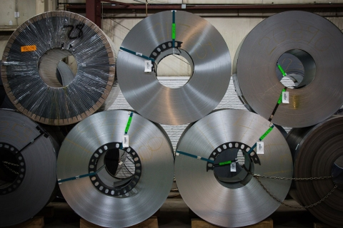 A Look at a Few of the Products Available from Grand Steel, a Full Line Steel Service Center